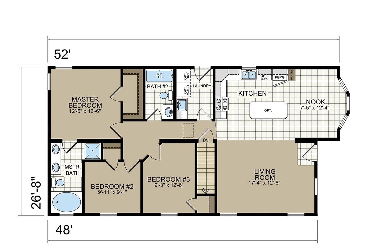Estate Modular A-95281 Layout