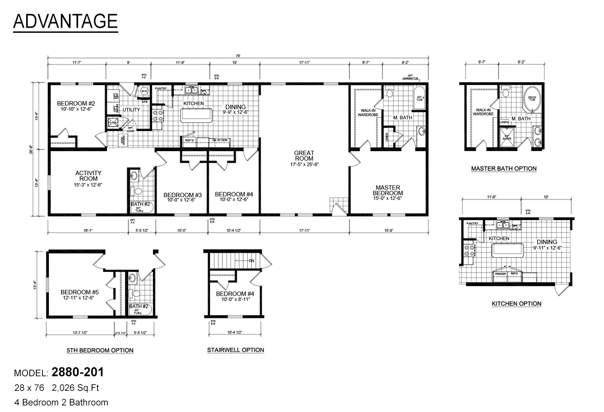 Advantage Sectional - 2880-201