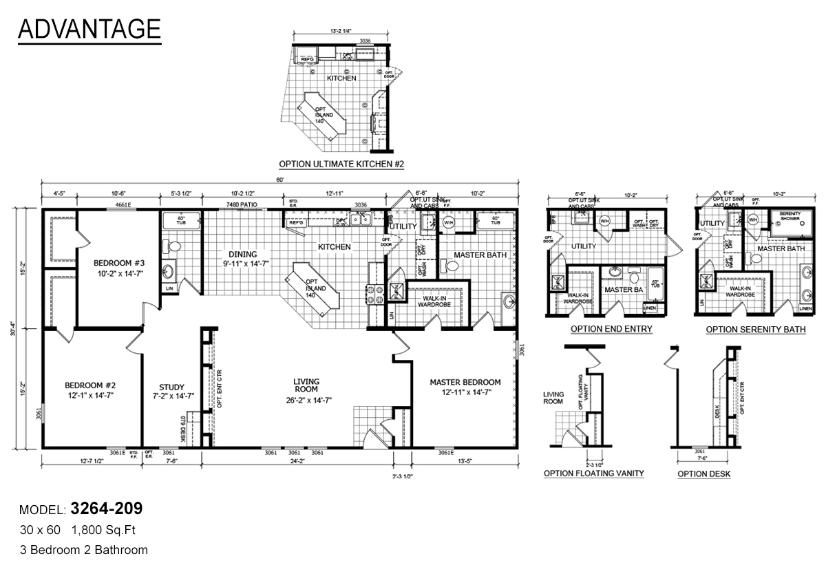 Advantage Modular - 3264-209