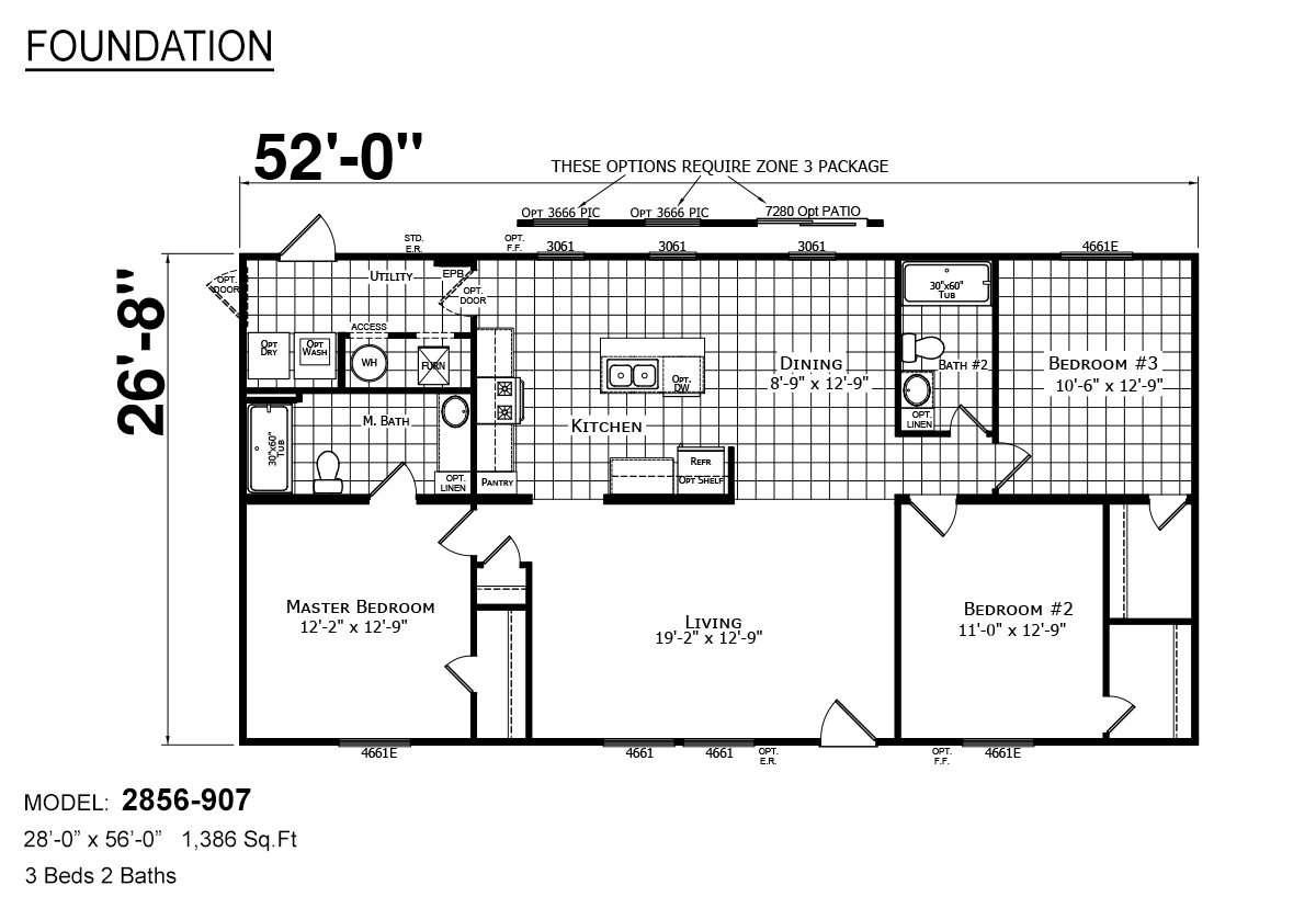 Foundation Sectional - 2856-907