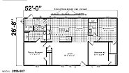 Foundation Sectional 2856-907 Layout