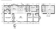 Foundation Sectional 2860-903 Layout