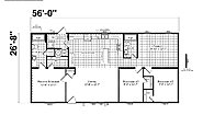 Foundation Sectional 2860-907 Layout