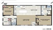 Highland Estates 2848-2B Layout