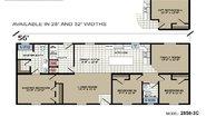 Highland Estates 2856-3C Layout