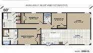 Highland Estates 2860-3L Layout