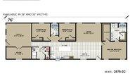 Highland Estates 2876-3C Layout