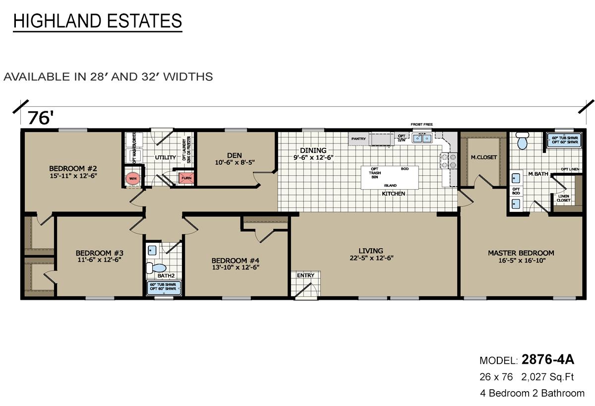 Highland Estates - 2876-4A