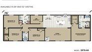 Highland Estates 2876-4A Layout