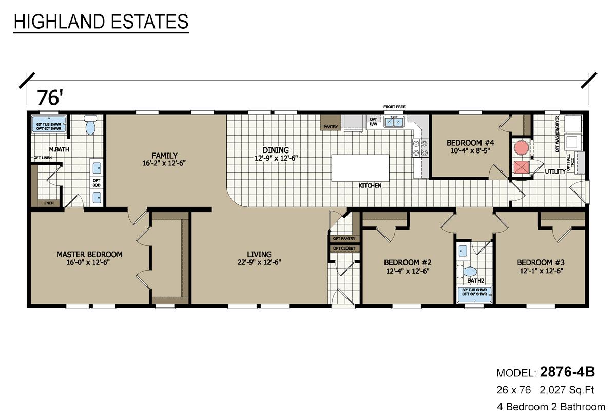 Highland Estates - 2876-4B