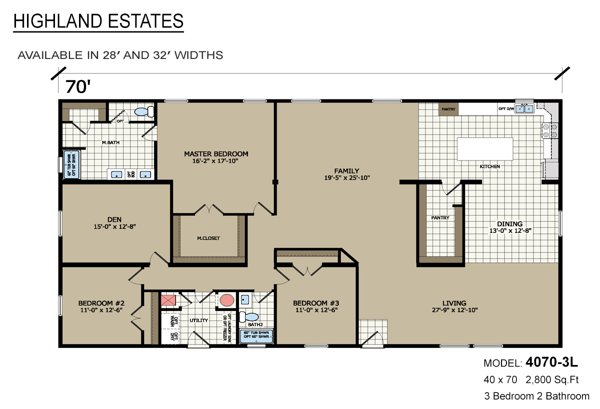 Highland Estates - 4070-3L