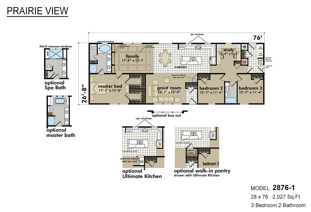 Prairie View 2876 1 Alpine Homes