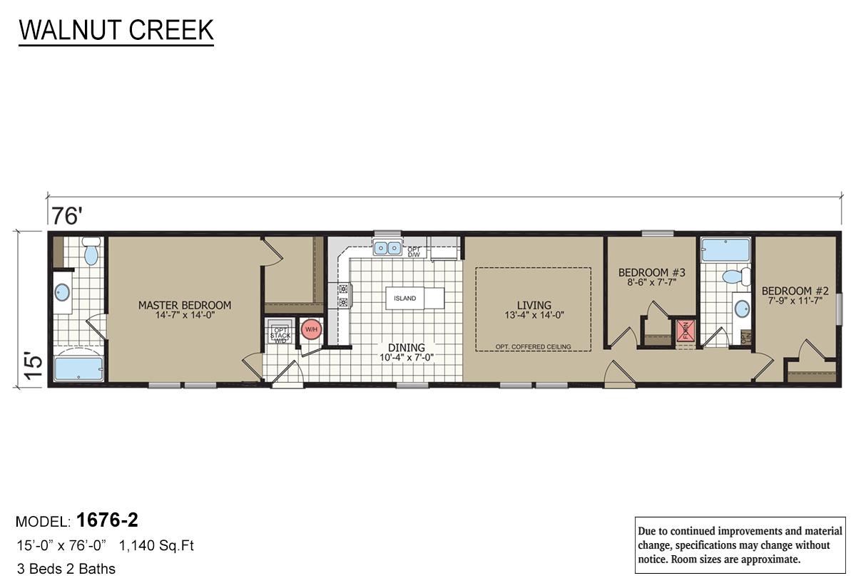 Walnut Creek - 1676-2