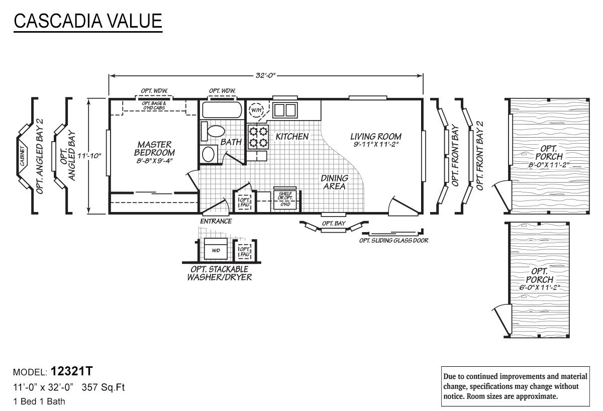 Cascadia Value - 12321T