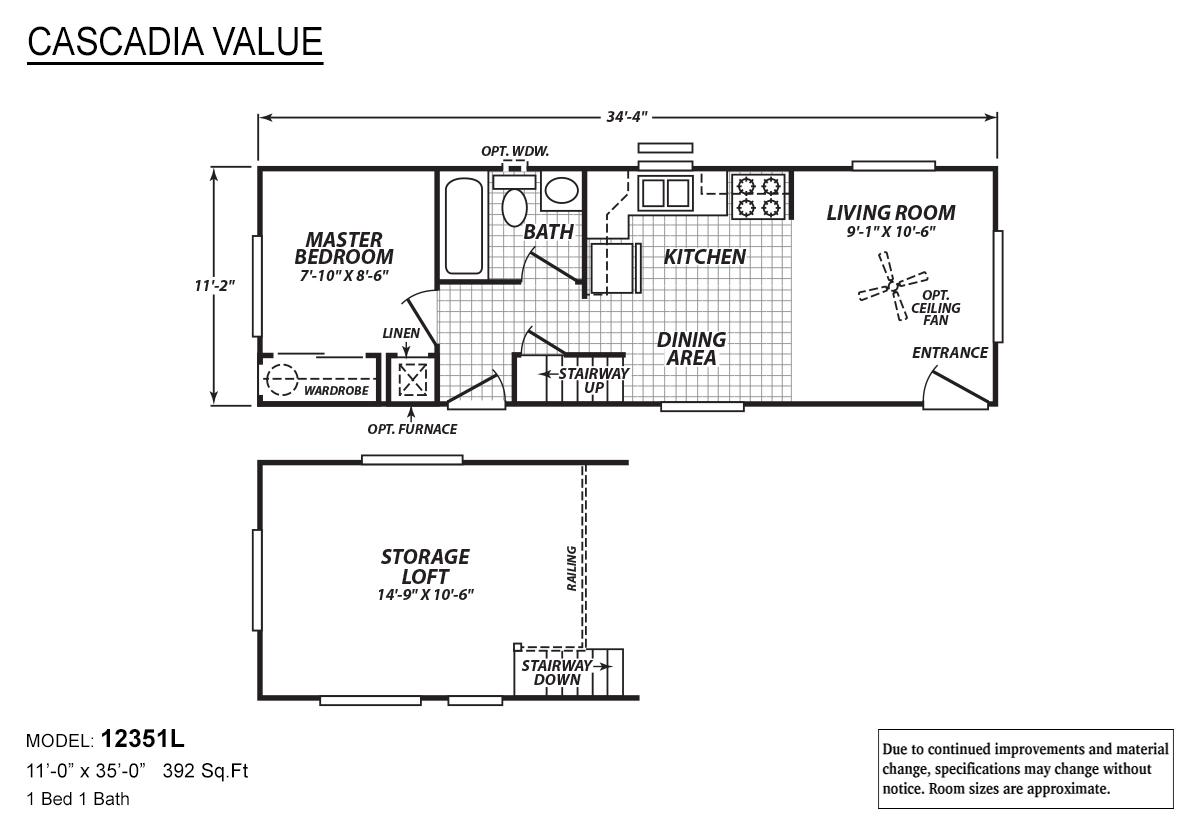 Cascadia Value - 12351L