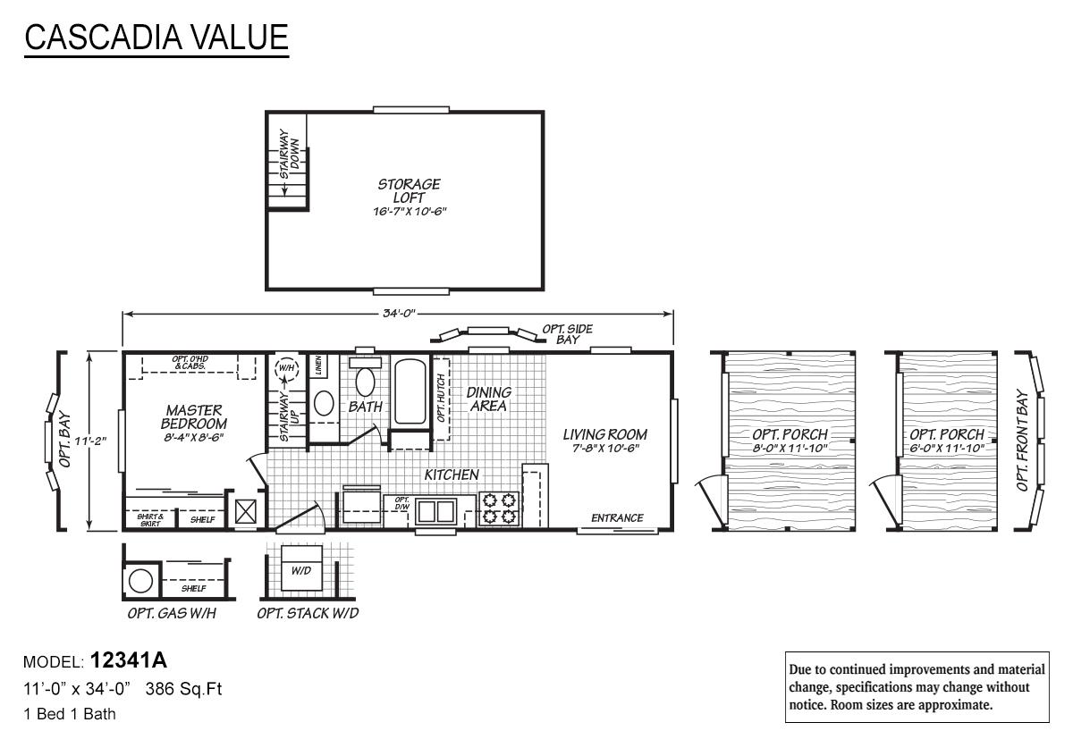 Cascadia Value - 12341A