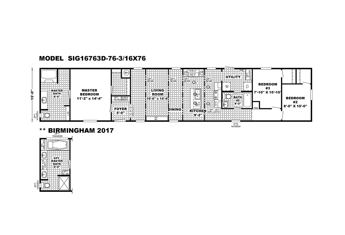 Signature The Parkside Layout