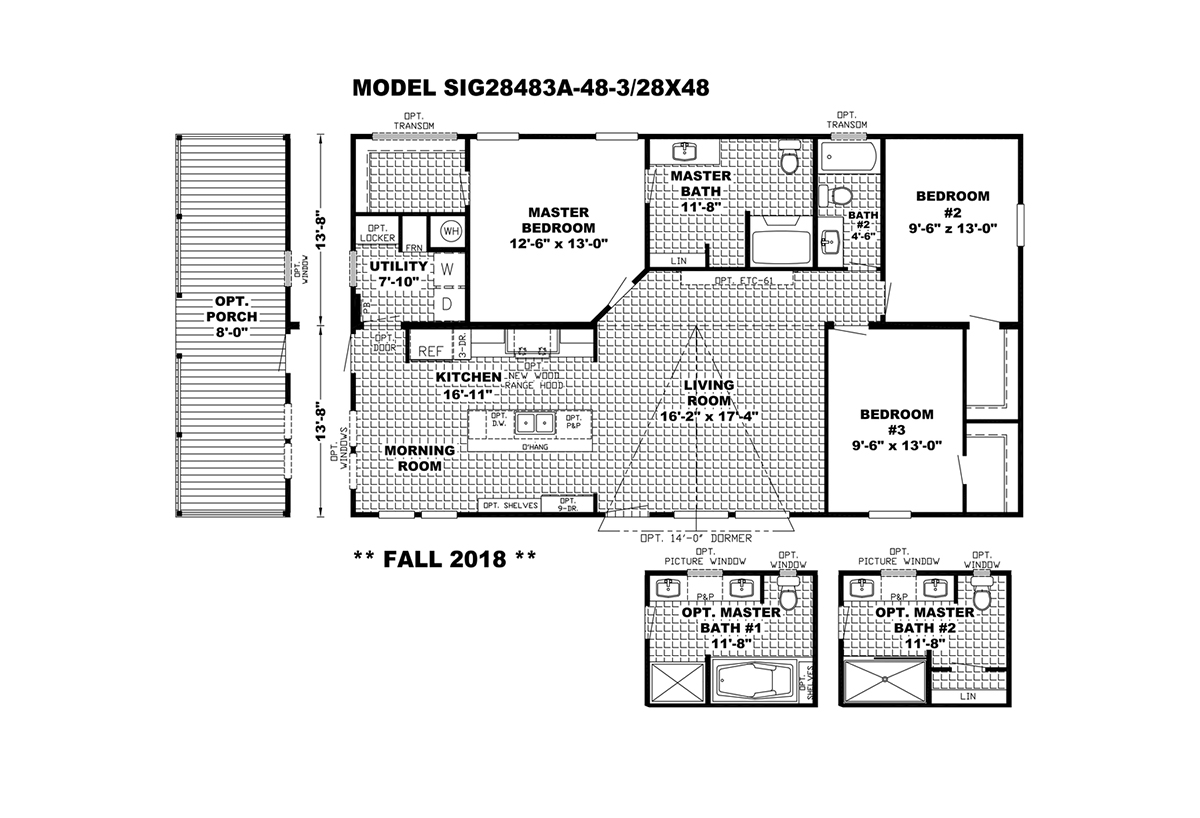 Signature The Southern Farmhouse Layout