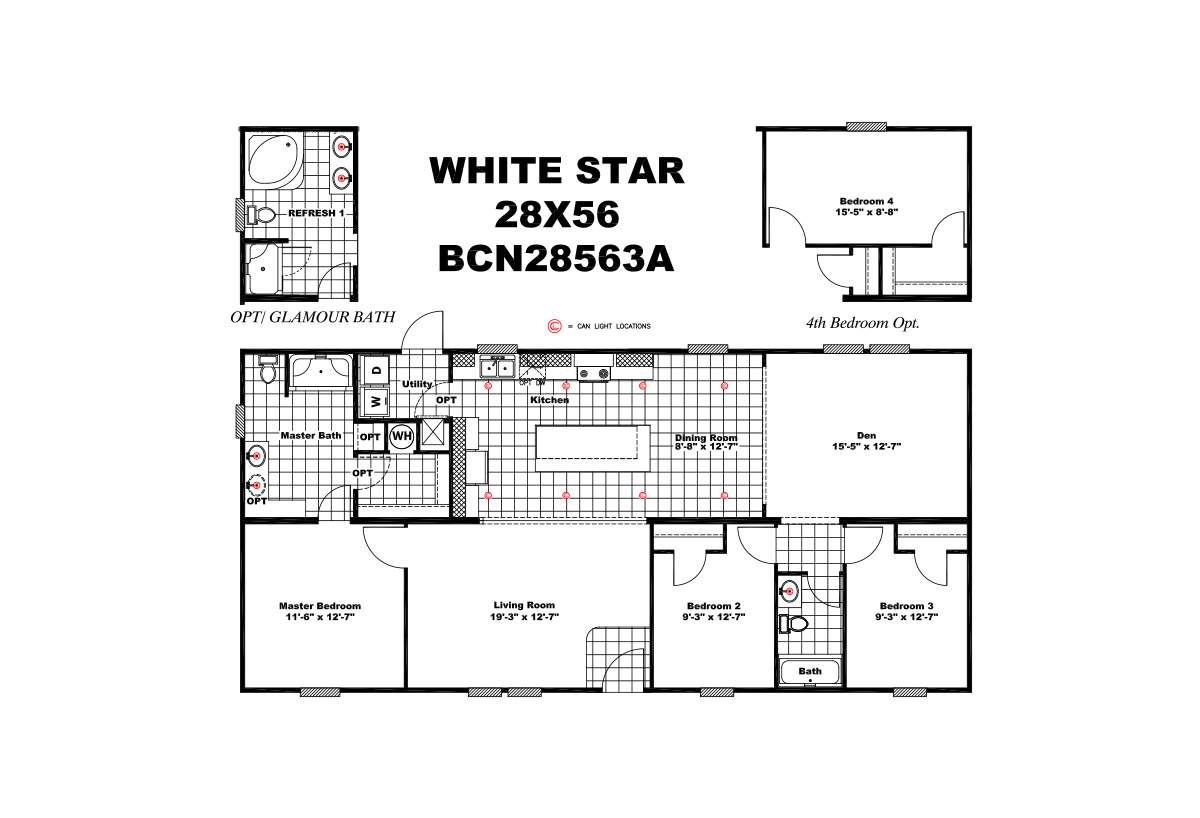 Foundation The White Star Layout