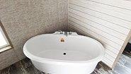 Giles Series Magnolia Manor Bathroom