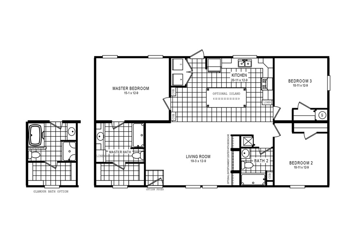 Advantage 6140 Cottage 4828 Layout