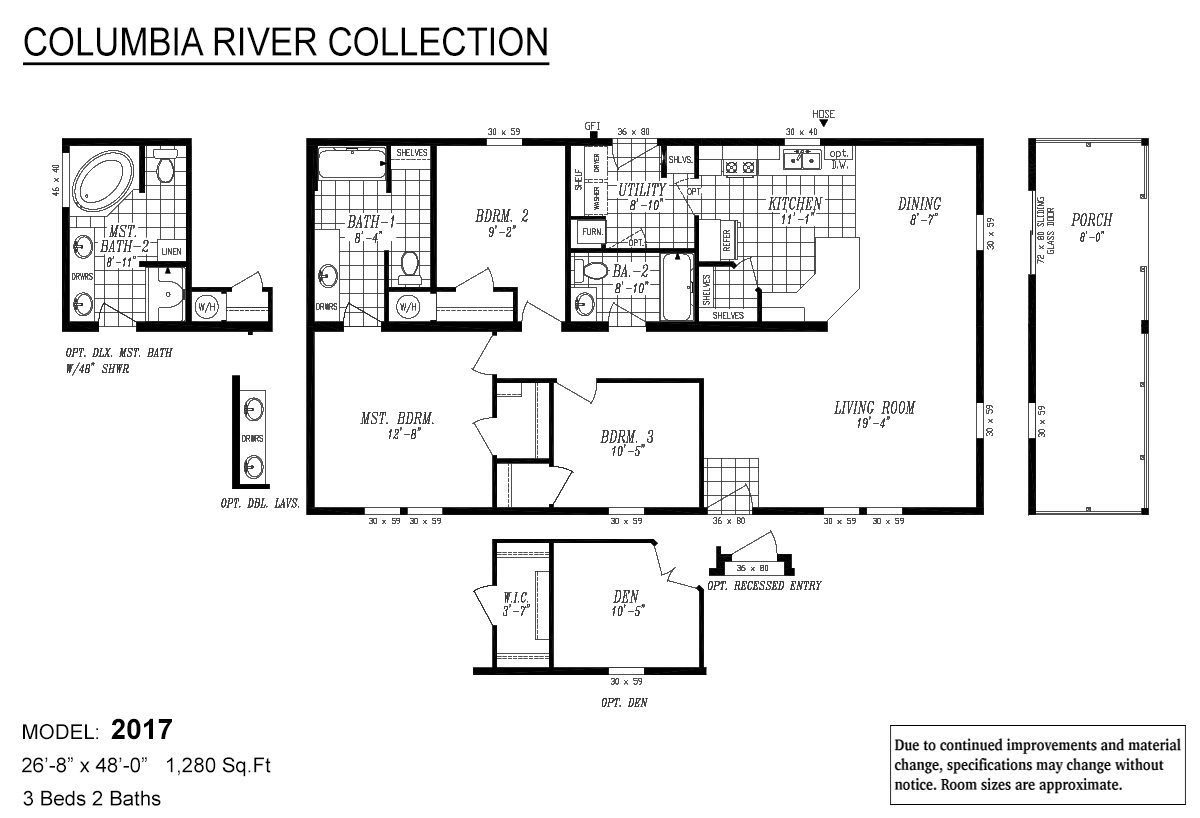 Columbia River Collection Multi-Section - 2017