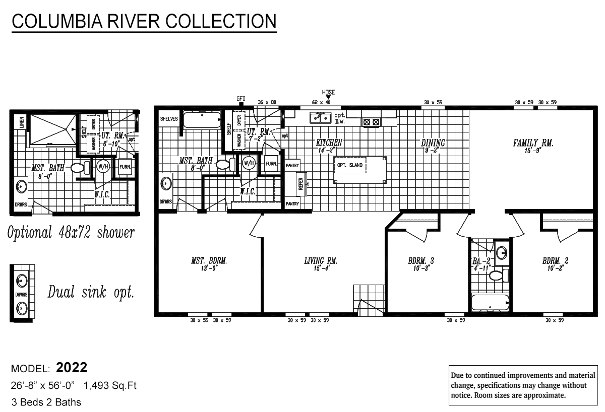 Columbia River Collection Multi-Section - 2022