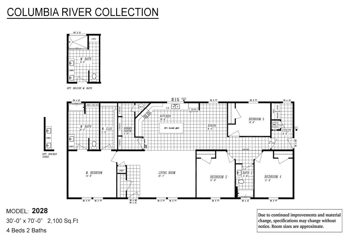 Columbia River Collection Multi-Section - 2028