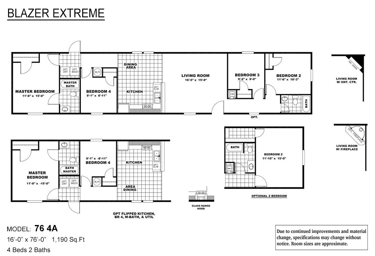 Blazer Extreme - 76 4A