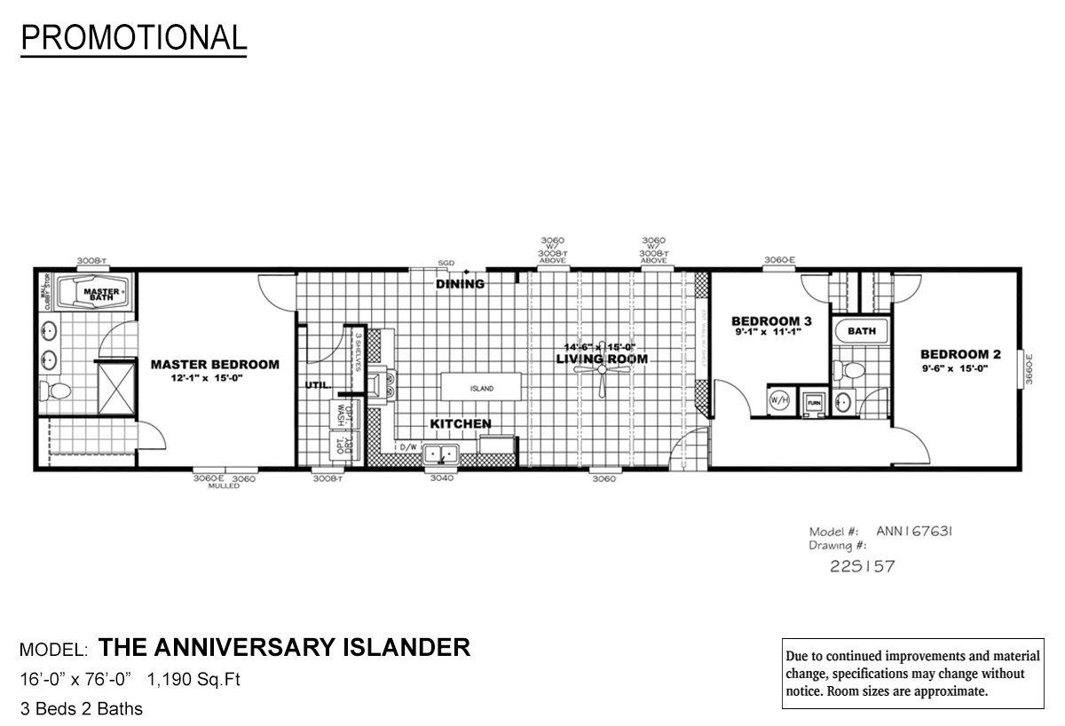 Promotional The Anniversary Islander By Clayton Built