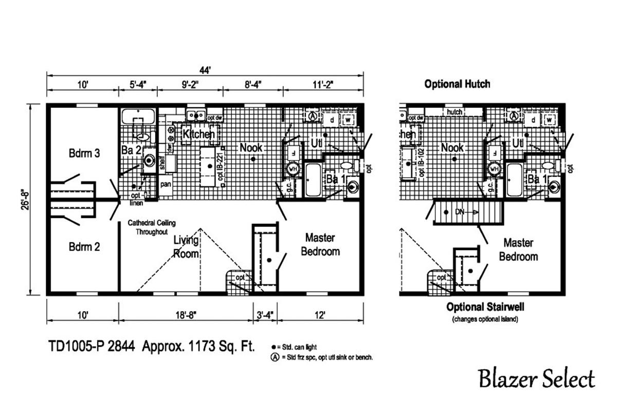 Blazer Select - TD1005-P