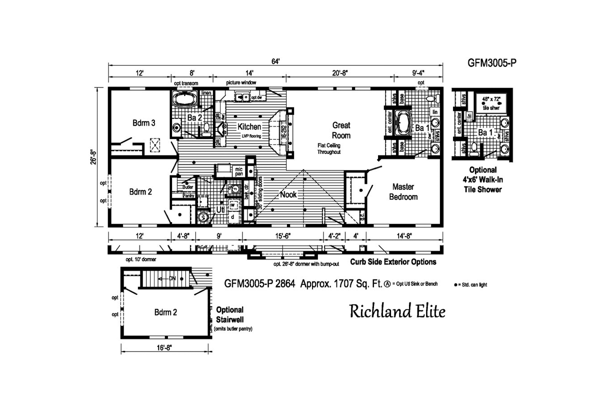 Richland Elite Ranch - GFM3005-P