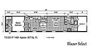 Blazer Select TS1001-P Layout