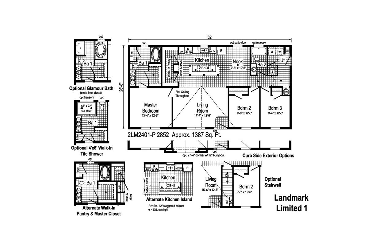 LandMark Limited 1 - 2LM2401P Layout