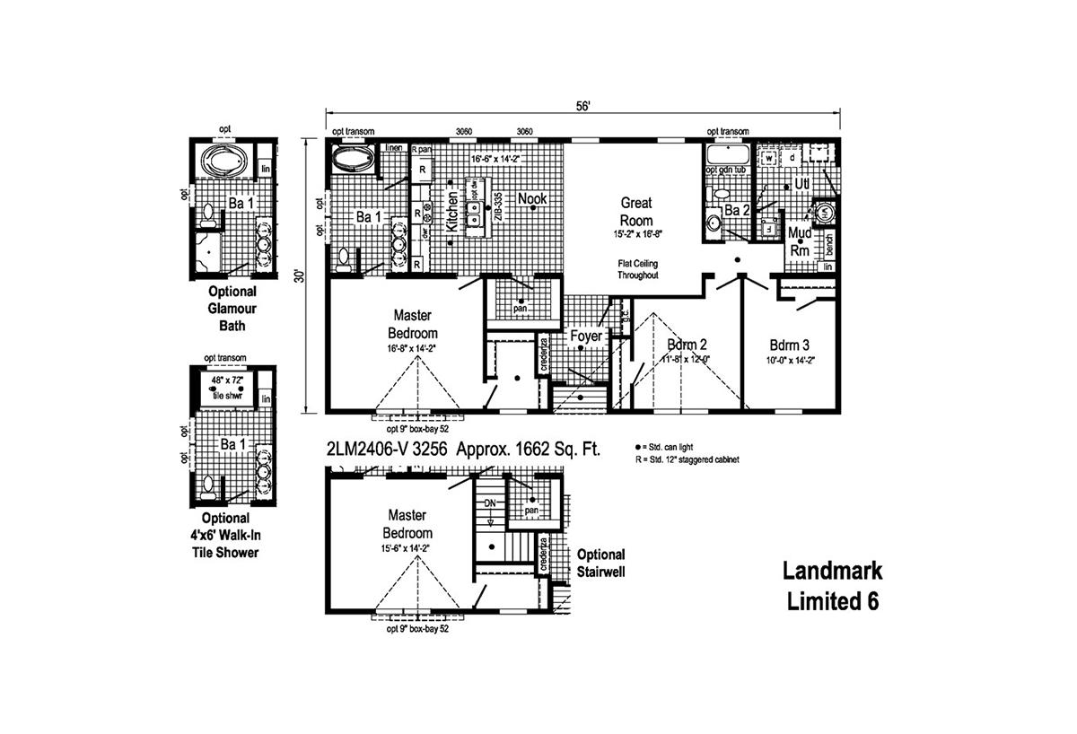 LandMark Limited 6 - 2LM2406V Layout