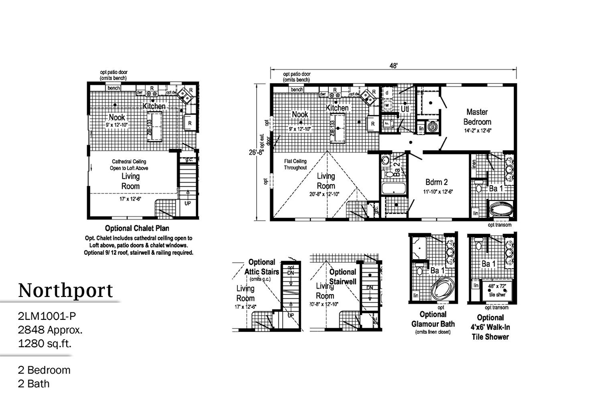 LandMark Northport 2LM1001-P Layout