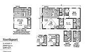 LandMark Northport 2LM1001-P Layout