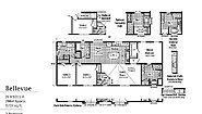 LandMark Bellevue 2LM1011-P Layout