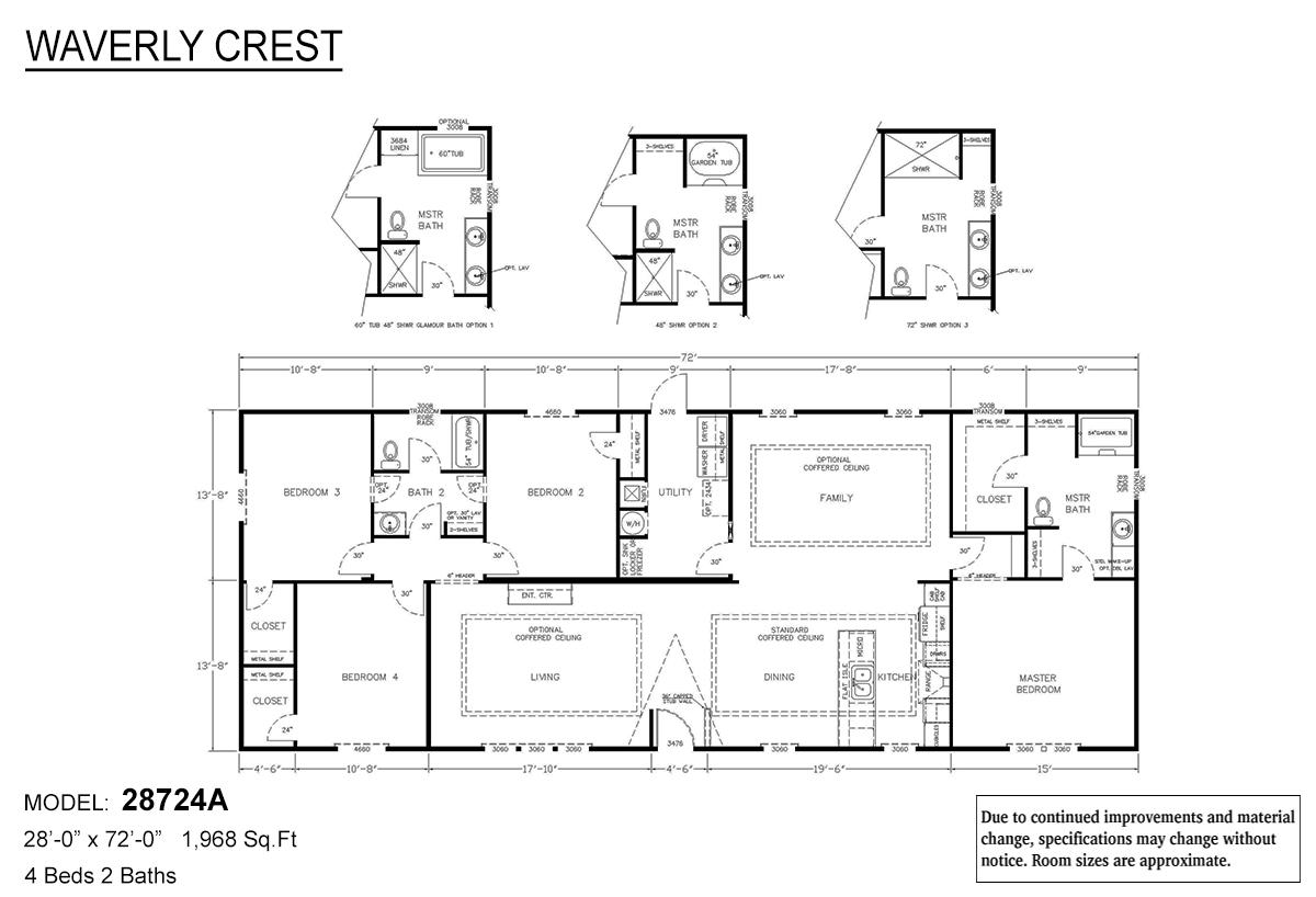 LH Waverly Crest 28724A Layout