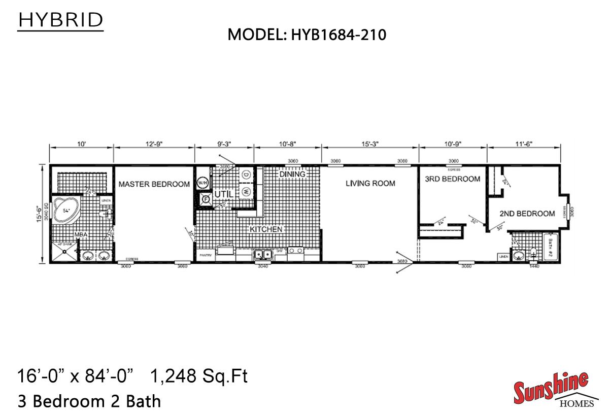 Hybrid - HYB1684-210 (NOW 1684-1013)