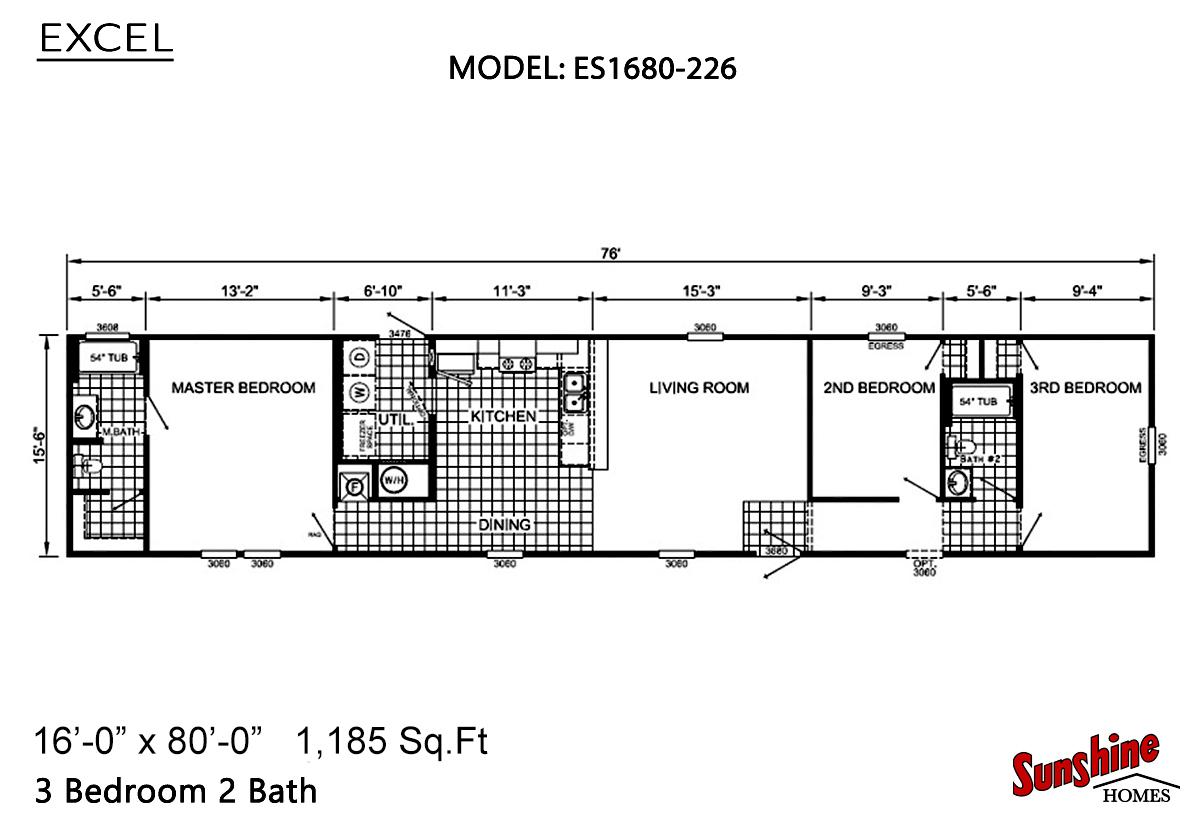 Excel - ES1680-226 (NOW 1680-1006)