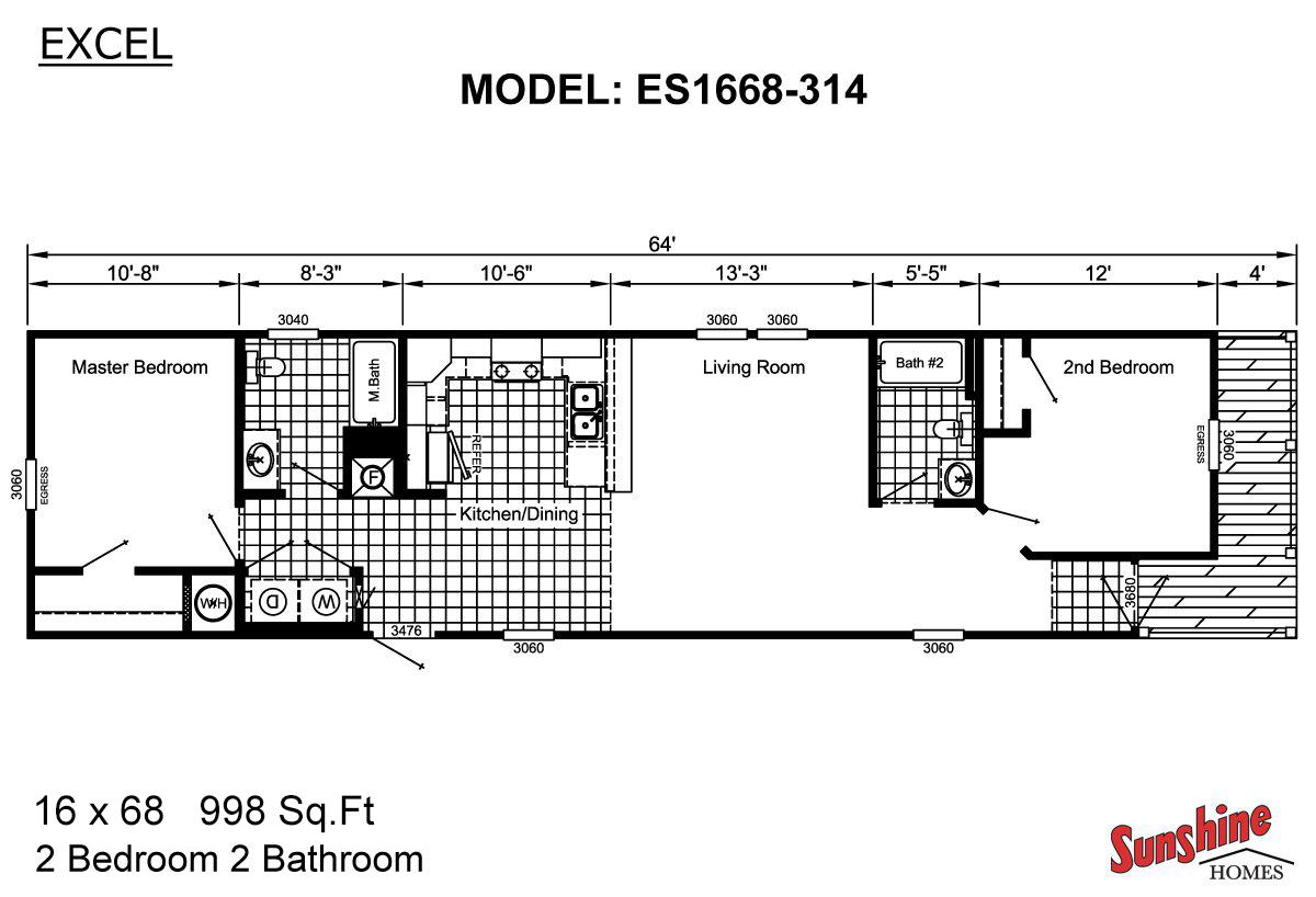 Excel - ES1668-314 (NOW 1668-1005)