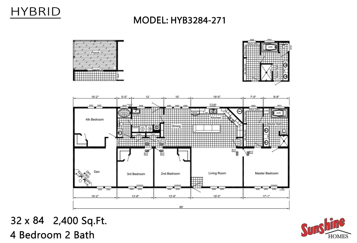 Hybrid HYB3284-271 (NOW 3284-2010) Layout