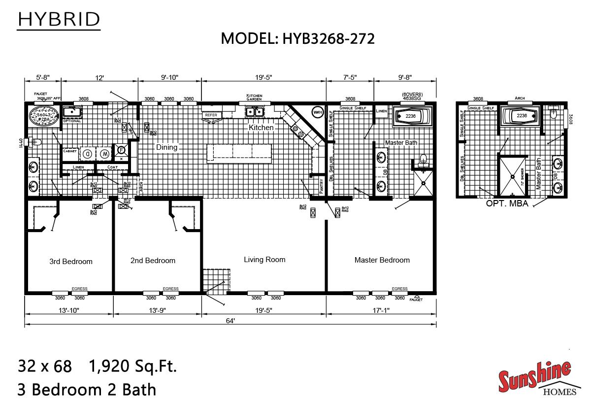 Hybrid - HYB3268-272 (NOW 3268-2004)