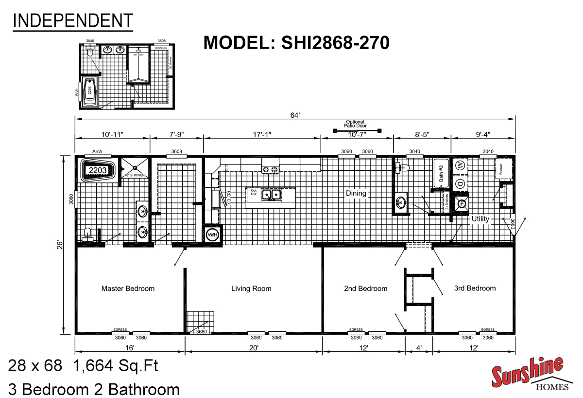 Independent SHI2868-270 (NOW 2868-2013) Layout