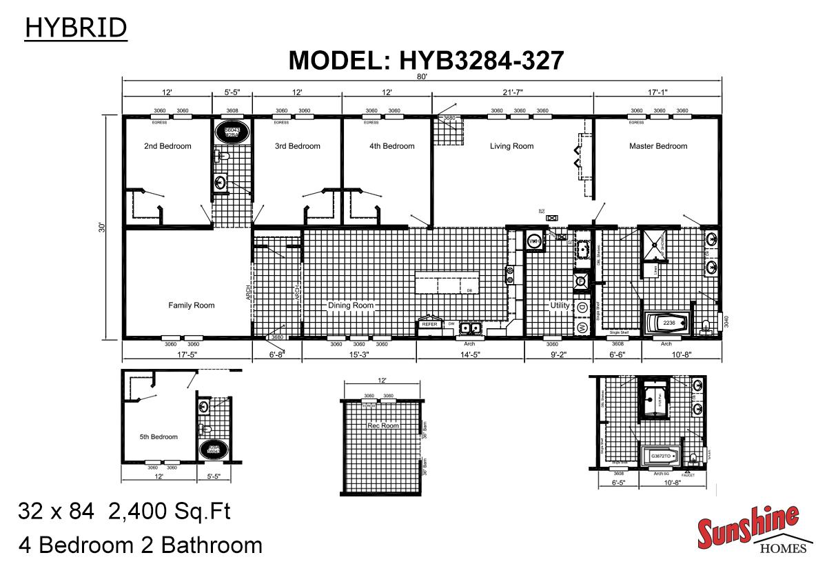 Hybrid HYB3284-327 (NOW 3284-2012) Layout