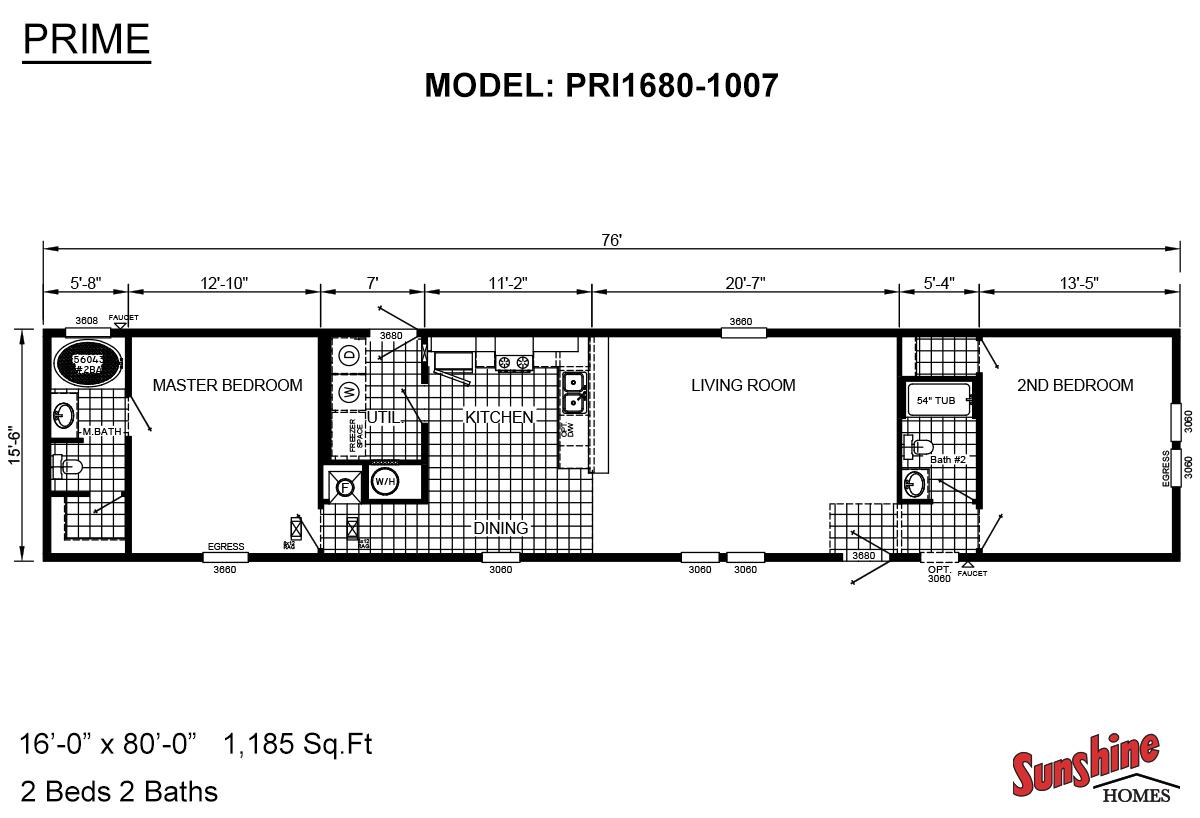 Prime PRI1680-1007 Layout