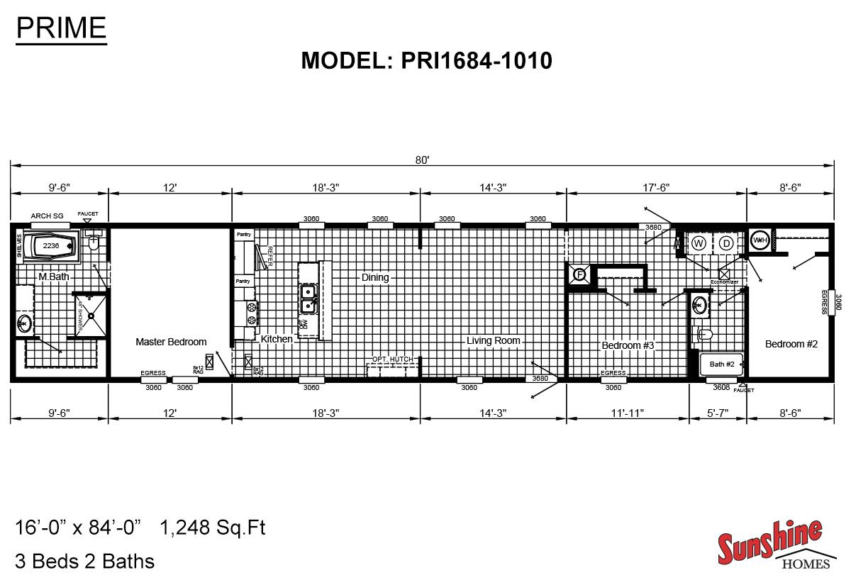 Prime PRI1684-1010 Layout