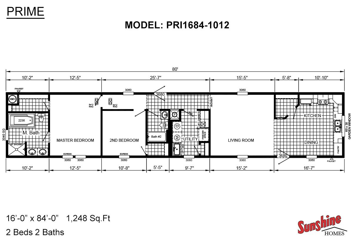 Prime PRI1684-1012 Layout