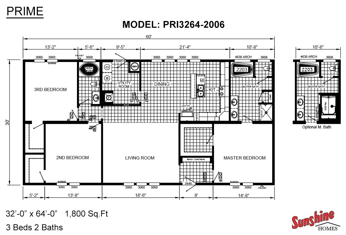 Prime PRI3264-2006 Layout